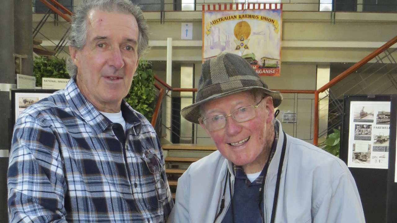 Eric Finigan and Neil 'Bunger' Ryan, ATP Open Day May 2015