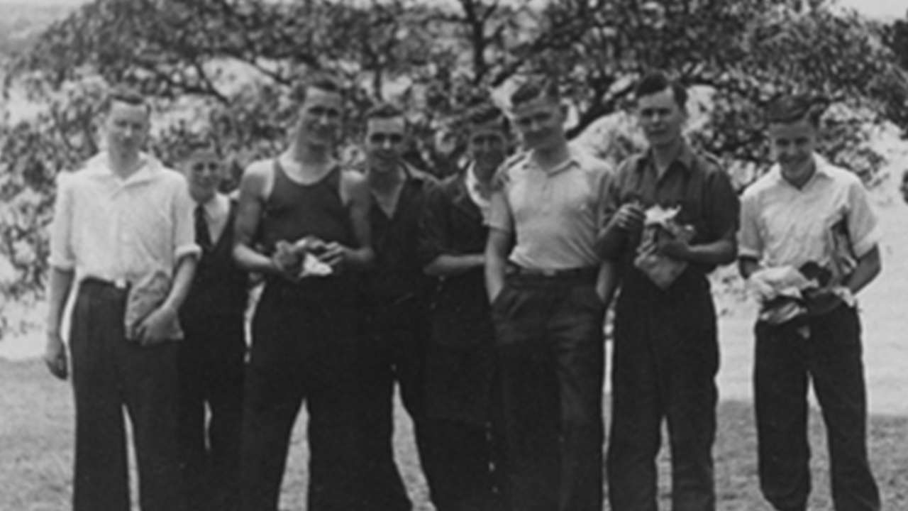 Eveleigh workers, Henry Behrmann 4thfrom right