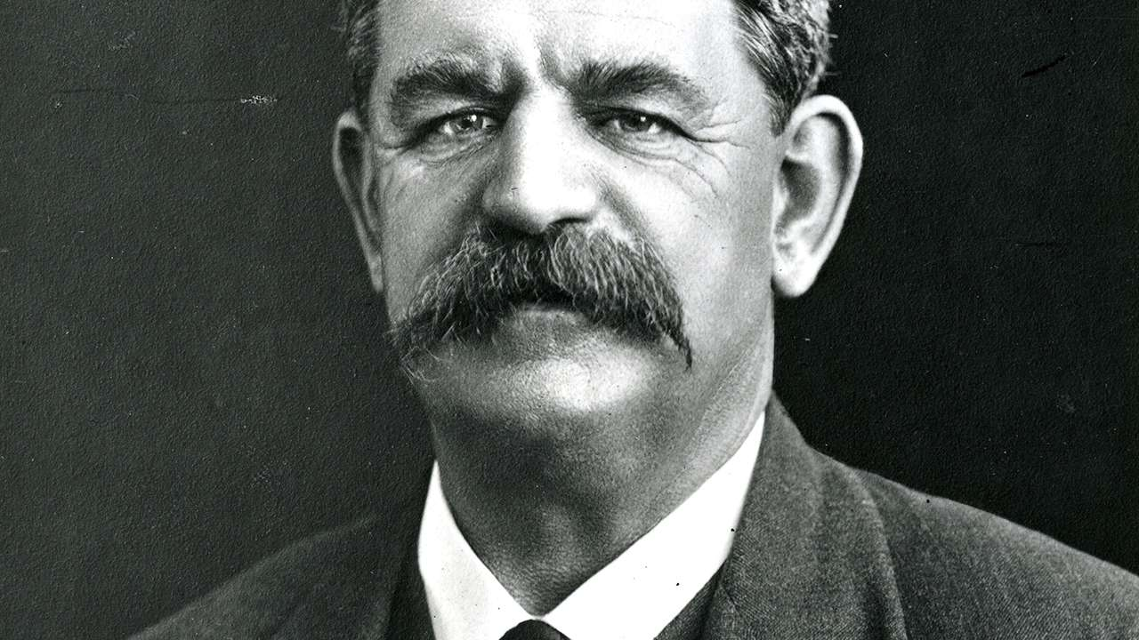 James Sinclair Taylor McGowen, former Eveleigh boilermaker, 18th Premier of NSW and the State's first Labor Premier, undated