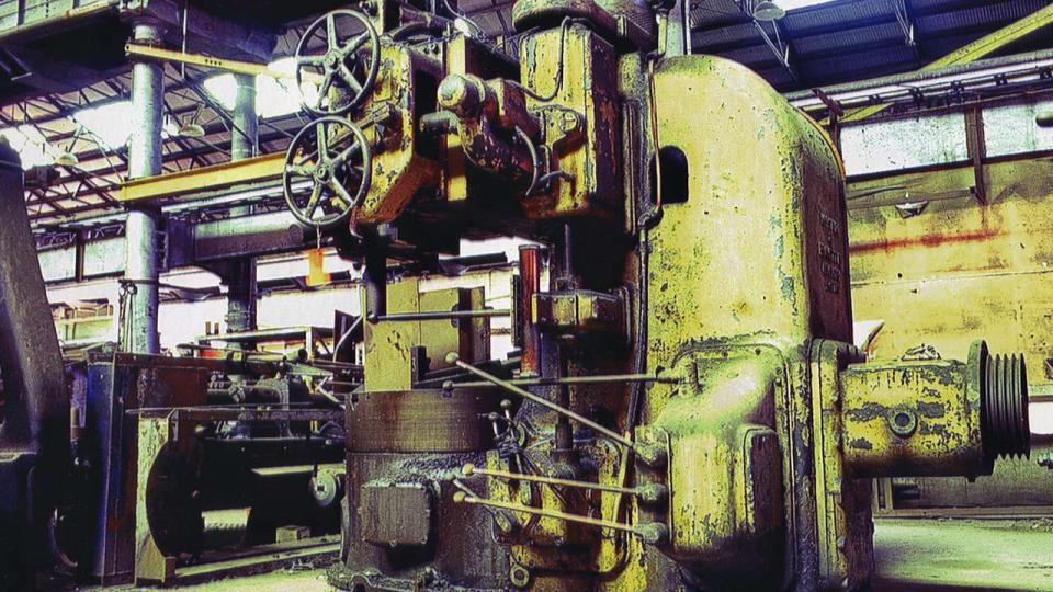 The sheer scale of the heritage machinery, is impressive and in keeping with steam locomotive manufacture at Eveleigh