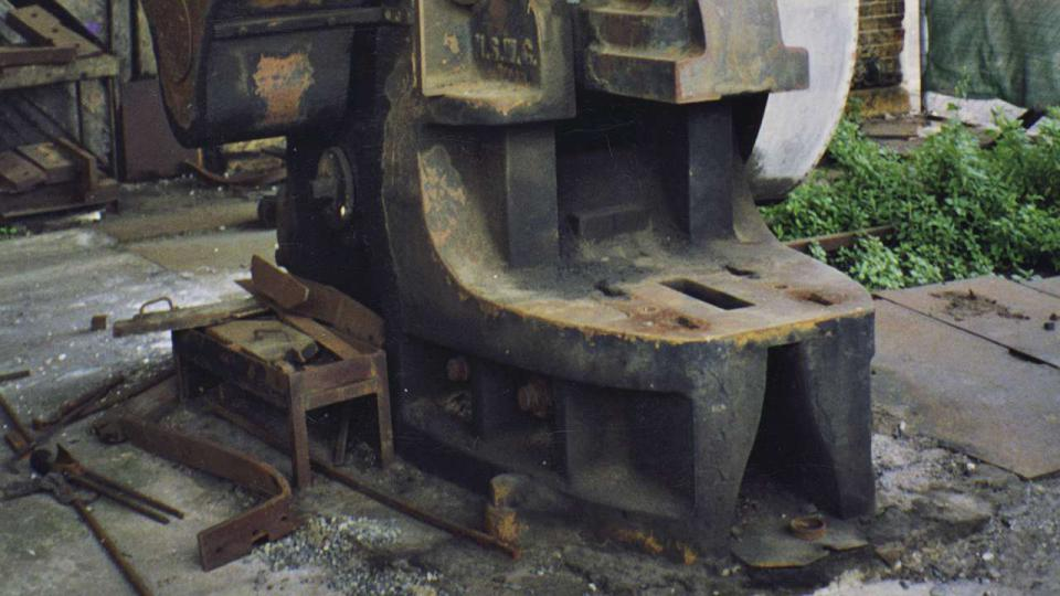 Every effort was made to retain and conserve all the remaining machinery