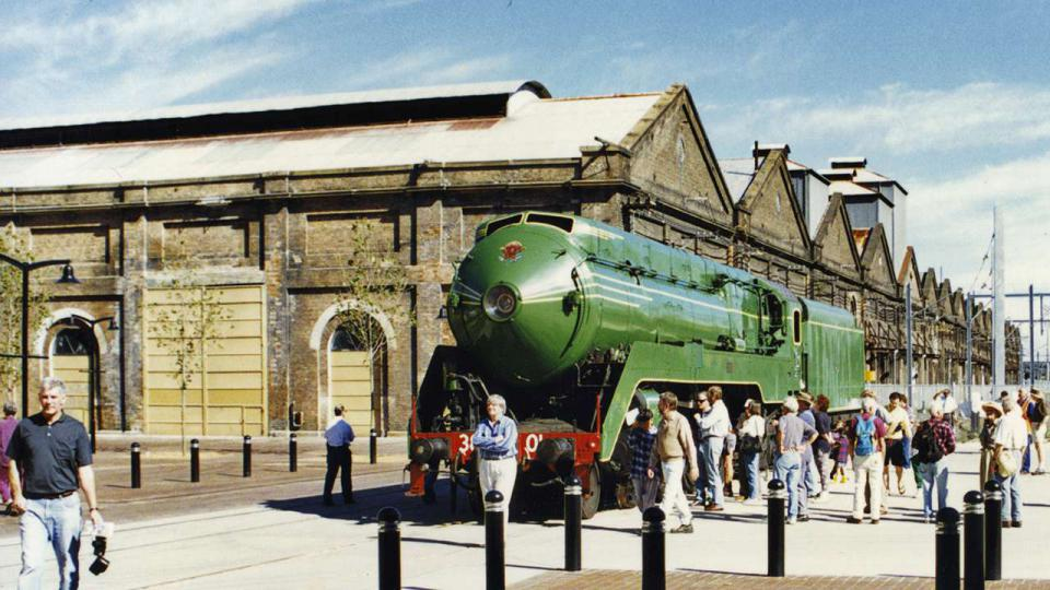 The 3801 locomotive was a regular visitor to ATP on Open Days