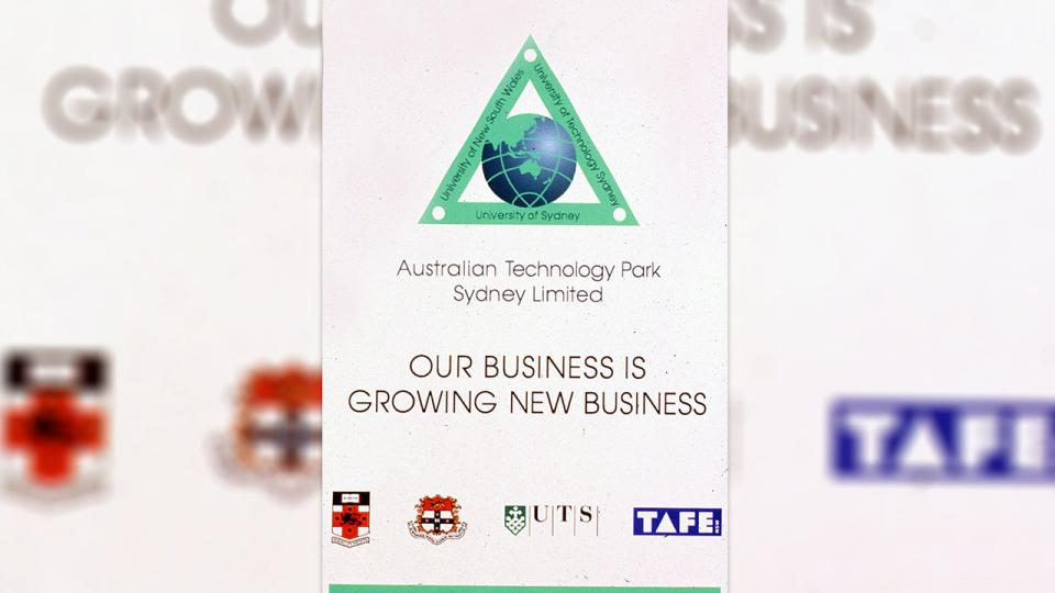The logo linked the three universities around a globe, signifying the international focus of ATP