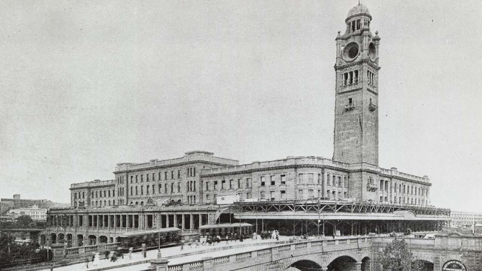 Central Railway Station, the current rail terminus
