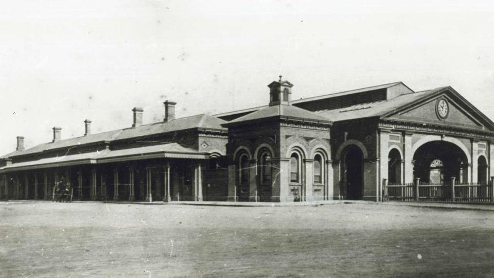 Second Sydney terminus , 1874.