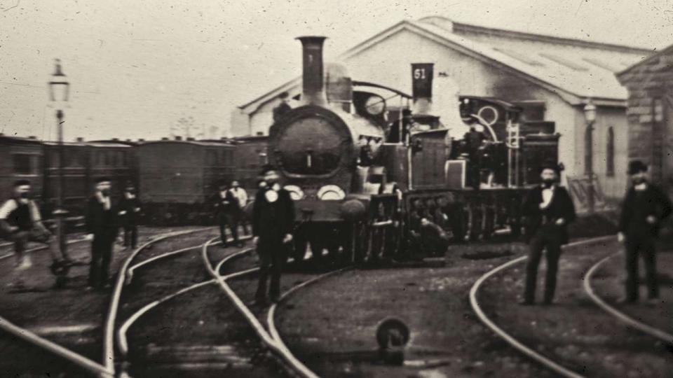 Eveleigh Railway Yards, undated