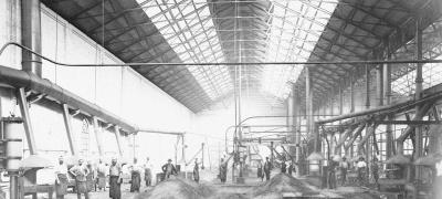 Blacksmiths' Shop, Eveleigh Railway Workshops, circa 1890s