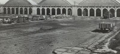 Eveleigh Locomotive Running Sheds, circa 1885