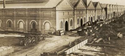 Eveleigh Locomotive Workshops, undated