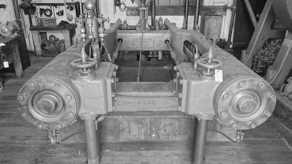1886 Fielding and Platt Hydraulic System Steam Pumping Engine, 2015